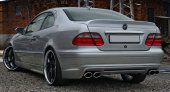 CLK W208 Deep Trunk Lip Spoiler 1998-2002