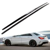 W117 Side Sill Extensions in Carbon Fiber (AMG Pack Only)