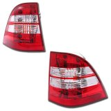 ML-Class W163 Red Tail Lights 1998-2005