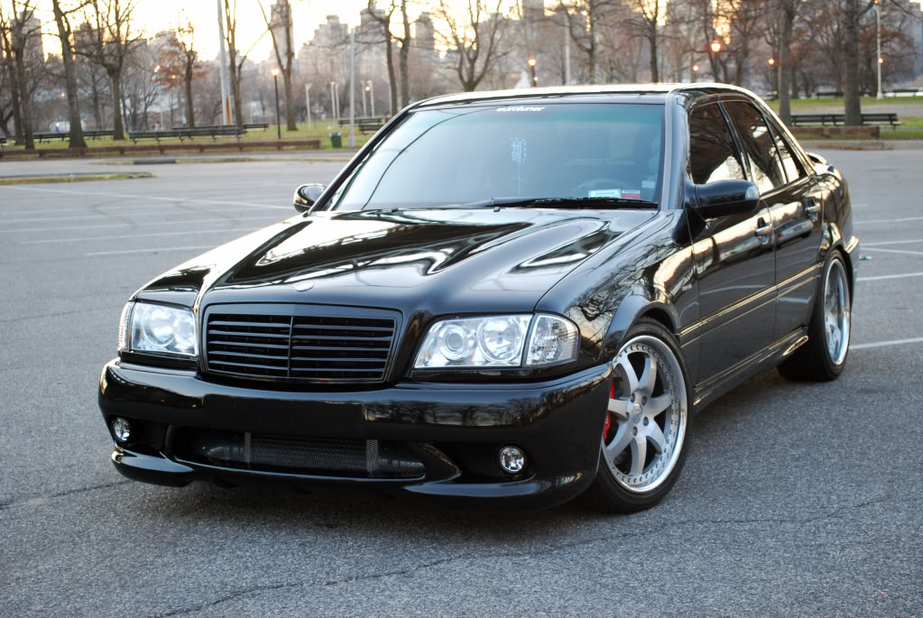 C Class W202 All Black Grille 94 00 Merc Wheels Shop