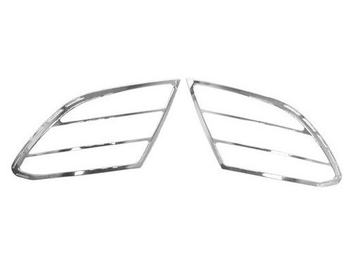W204 C-Class Chrome Tail Light Trim 08-11