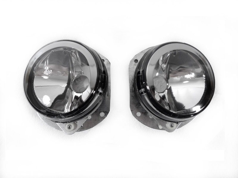 W204 C-Class Clear Fog Lights For 08-10 (Sport)