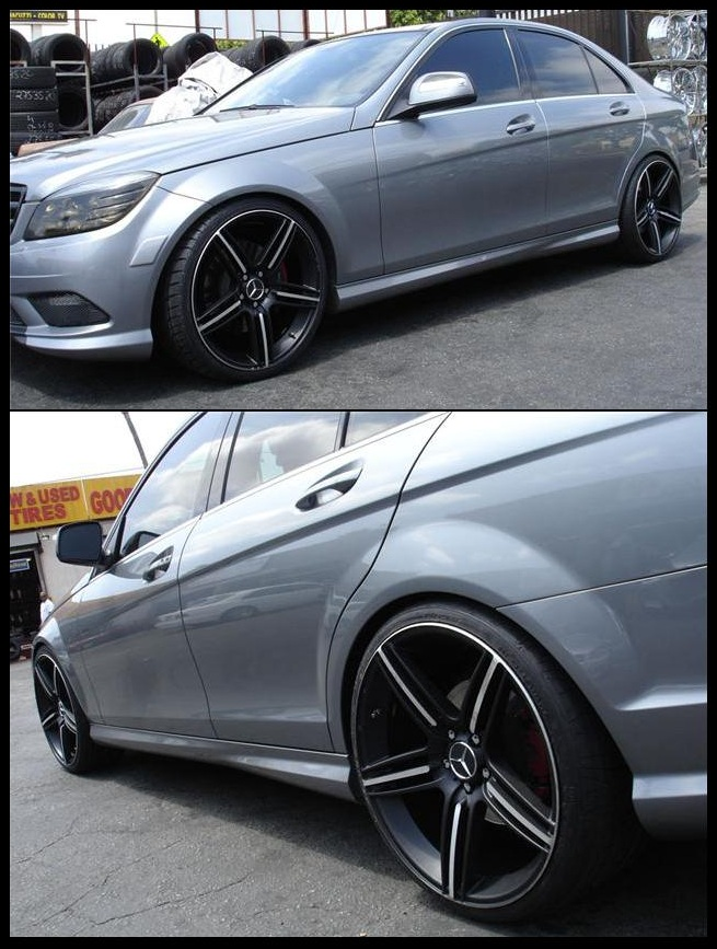 2008 2011 w204 mercedes c class 20 in hannover staggered for Mercedes benz c300 aftermarket accessories