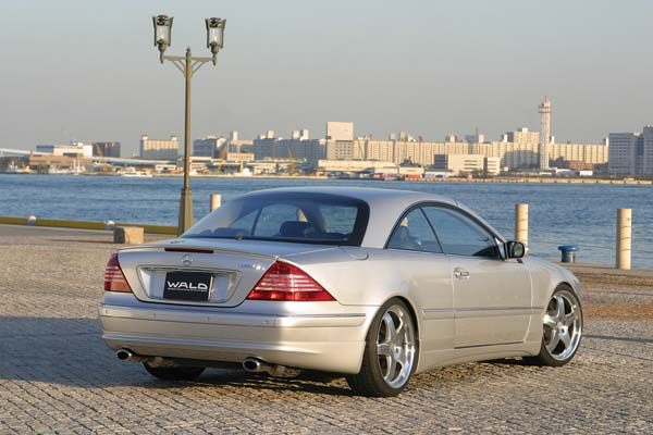 2002 Wald Mercedes Benz Sl Class. The Wald aero kit is made in